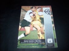 Derby County v Burnley, 1991/92 [FA] [rearranged]